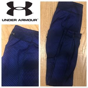 Under armor tight fit leggings sz S low waisted
